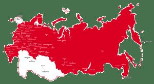 Карта реализации проектов Техгаз-ТК